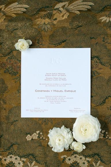 Constanza Wedding Invitation