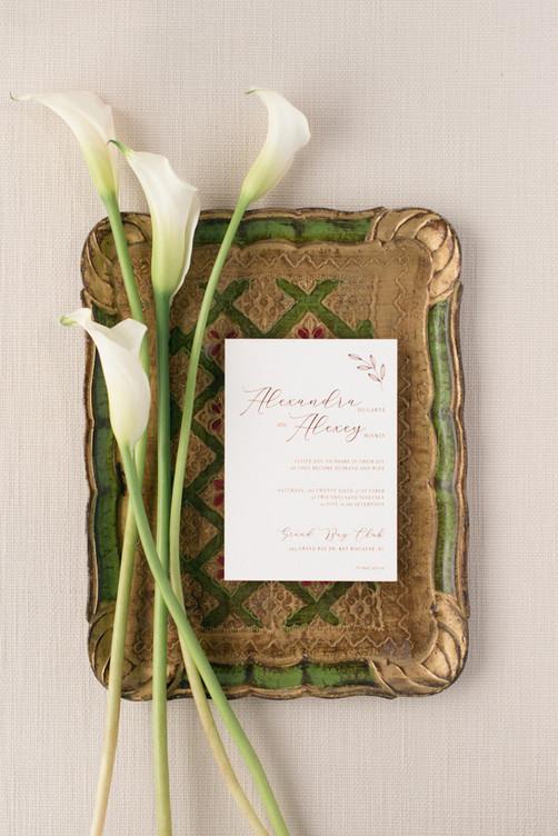 Alexandra's Wedding Invitation