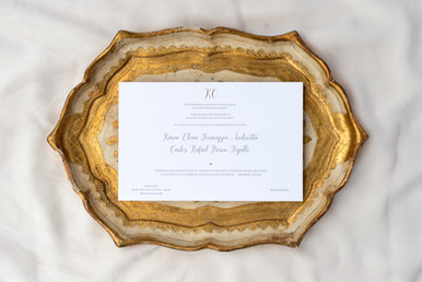 Karen wedding invitation