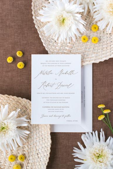 Natalie Wedding Invitation
