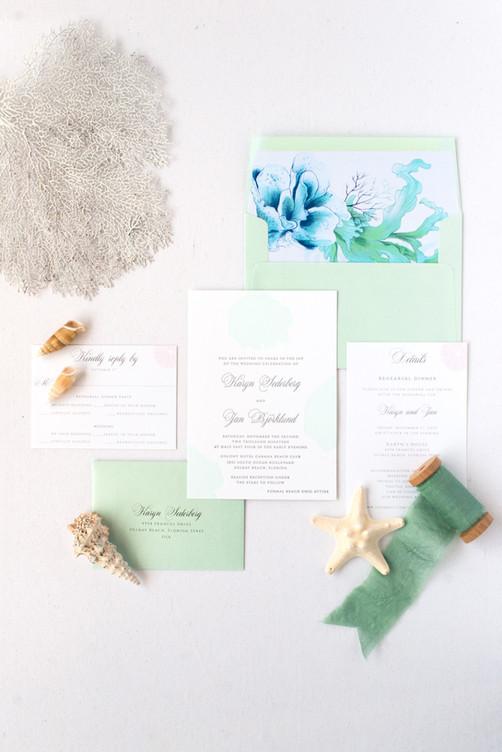 Karyn Wedding Invitation Suite