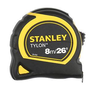 STANLEYTYLON8m x 25mm TAPEMEASURECARDED