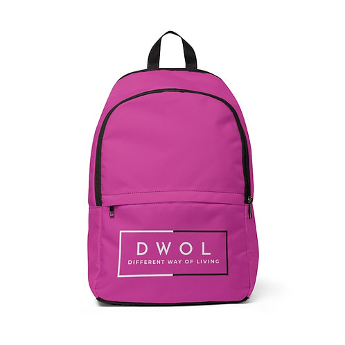 Unisex Fabric Backpack