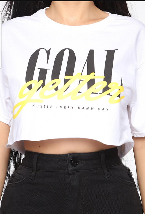 Goal Getter Crop Top