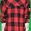 Thumbnail: Womens Red Flannel Shirt