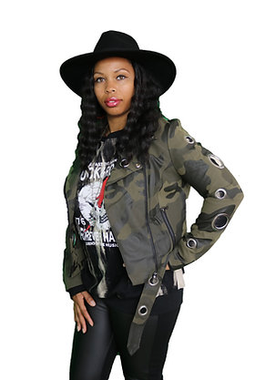 Amy Fatigue Jacket