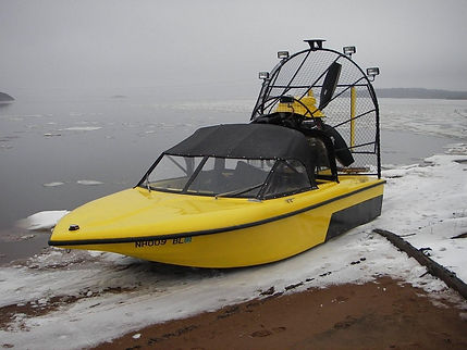 Personal Airboat Iceboat