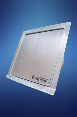 Stainless steel rainwater outlet