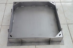 recessed type manhole cover