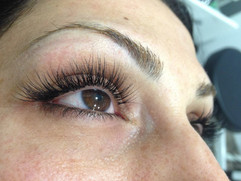 Eyelash extensions med single lash