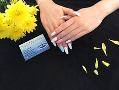 Farve akryl negle