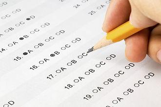 An SAT exam paper