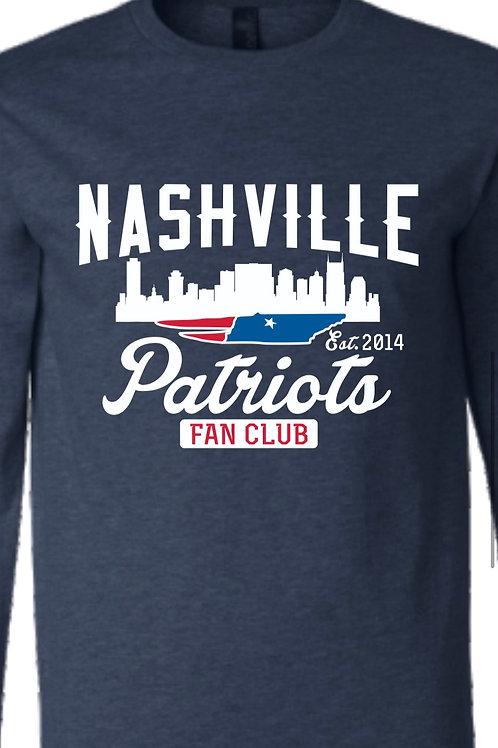 2020 Nashville Patriots Long Sleeve
