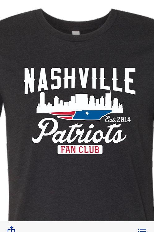 2019 Nashville Patriots T-Shirt