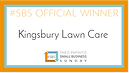 Kingsbury Lawn Care | lawn treatment service / this logo is our winners logo for our Theo Paphitis Small Business Sunday win