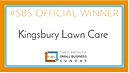 Kingsbury Lawn Care / lawn treatment service / this logo is our winners logo for our Theo Paphitis Small Business Sunday win