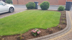 Green lawn in Lichfield