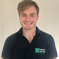 Kingsbury Lawn Care / lawn treatment service / this image is of Kingsbury Lawn Care owner Jack Chapman