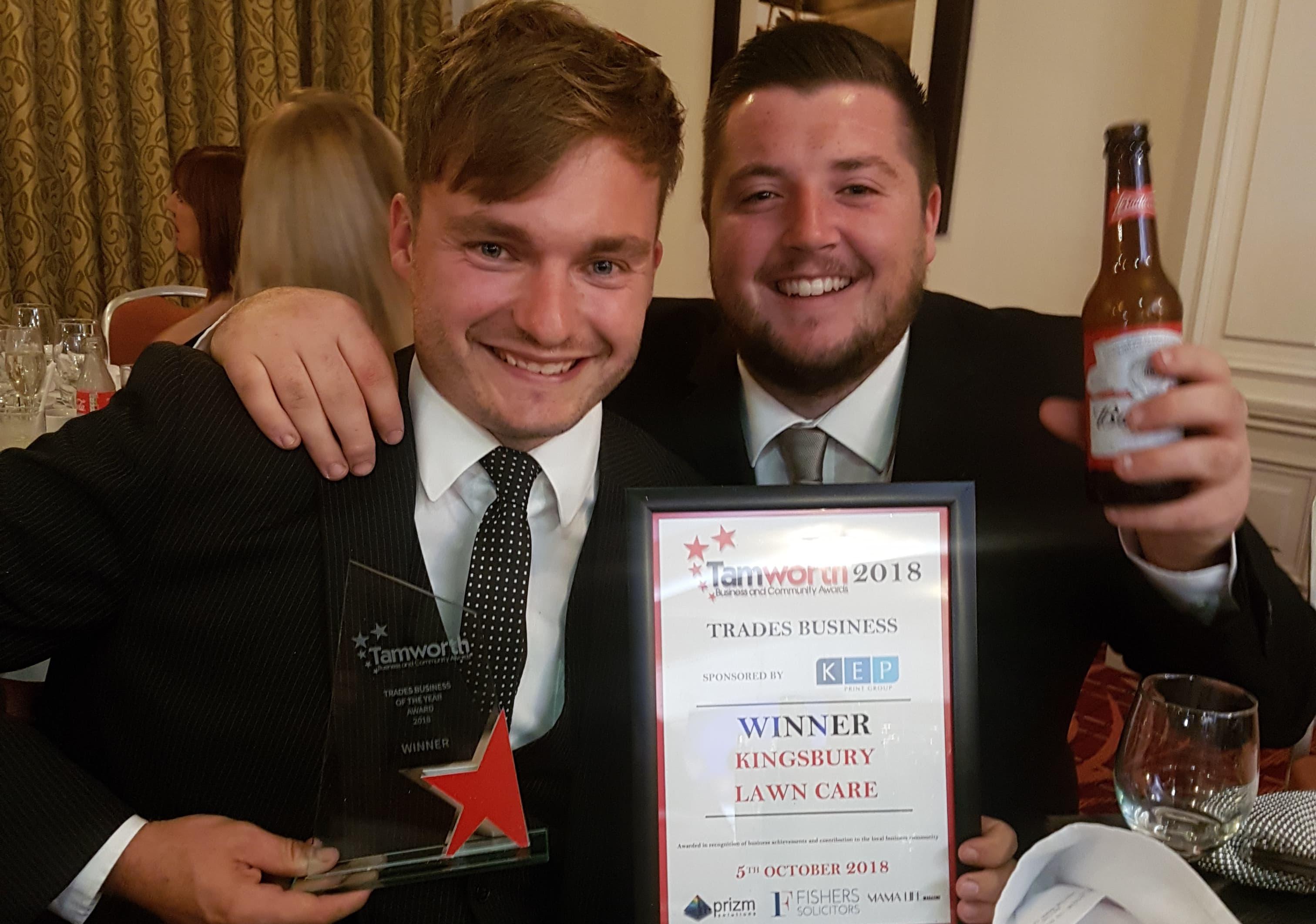 Award winning lawn care business