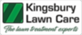 Kingsbury Lawn Care Logo The Lawn Treatment Experts