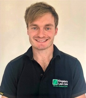 Kingsbury Lawn Care / lawn treatment experts / this image is of managing director Jack Chapman
