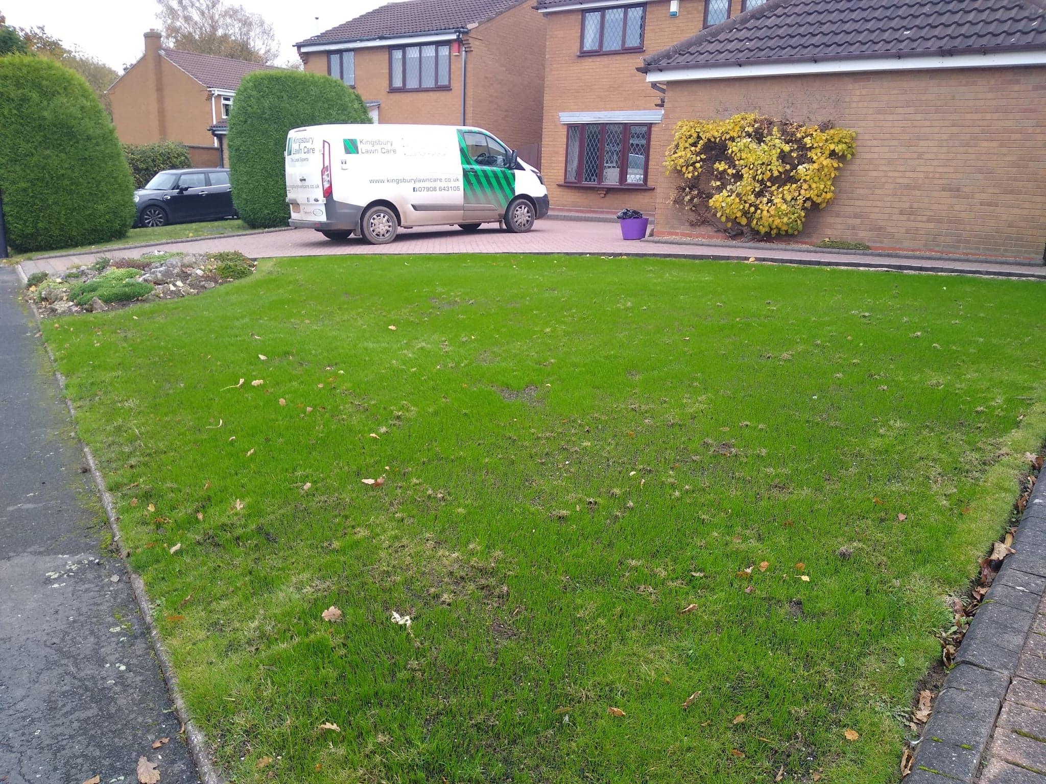 New grass Sutton Coldfield