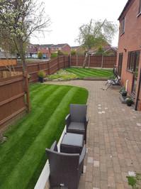 Healthy green lawns