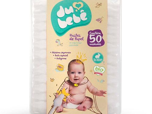 Cotonete Haste de segurança para seu Bebe DUBEBE - BOX 50und