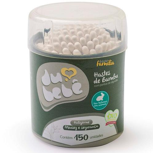 Cotonete / HASTE Bambu DUBEBE Pote 150und