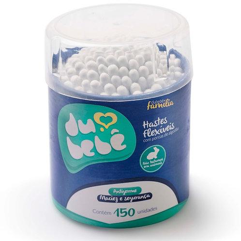 Cotonete / Haste Flexível DUBEBE pote 150 und