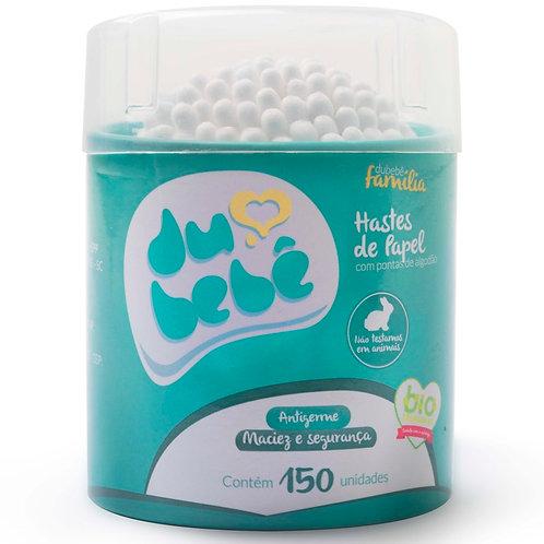 Cotonete / Haste de Papel DUBEBE pote 150 und
