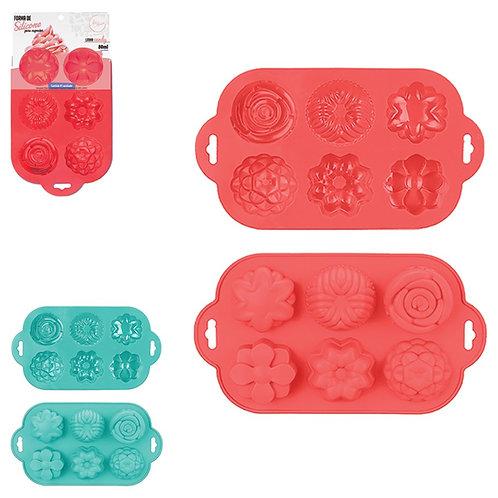 Forma de Silicone para Mini Bolinhos e/ou Cupcakes