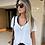 Thumbnail: Blusa Tshirt Camiseta Feminina Podrinha Manga Curta Tendência Instagram