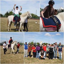 Encontro de Equitação Especial