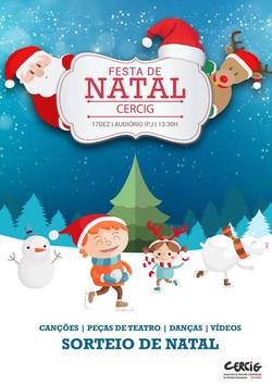 FESTA DE NATAL CERCIG 2015