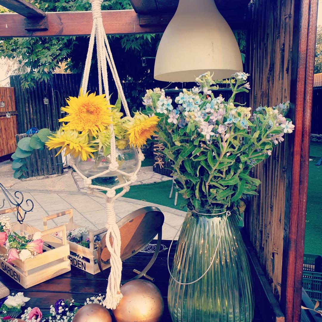 פרחים לשולחן