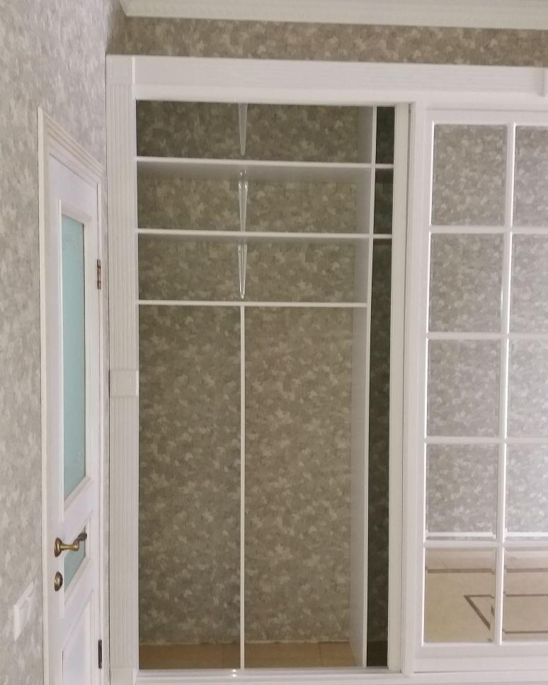Встроенный шкаф по индивидуальному проекту