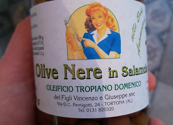 Olives noires (dans saumure) - 280gr
