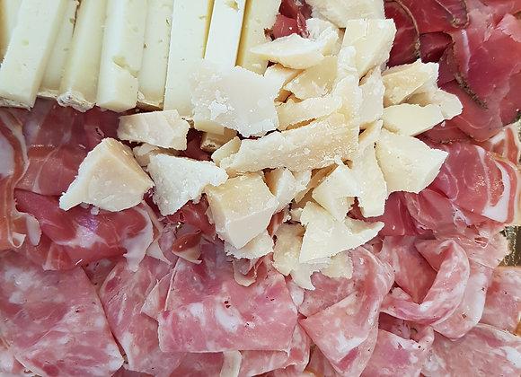 Plateau mixte charcuteries / fromages (4p)