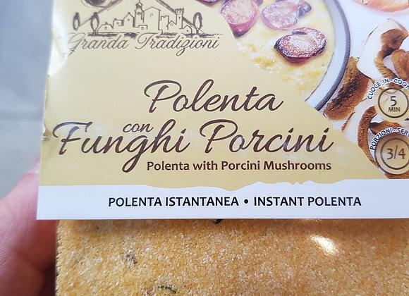 Polenta aux champignons Porcini - 225gr