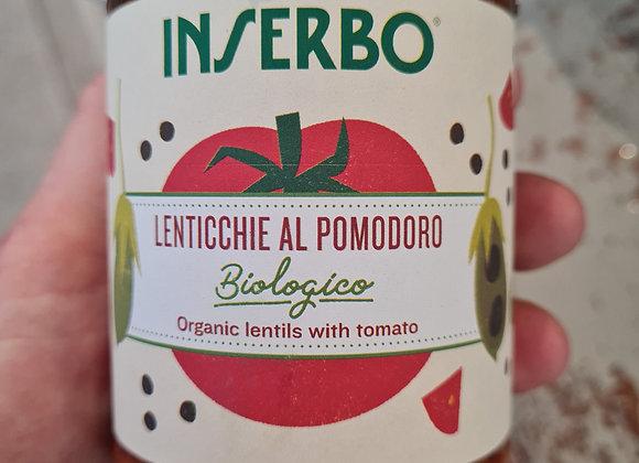 Lentilles Bio à la tomate