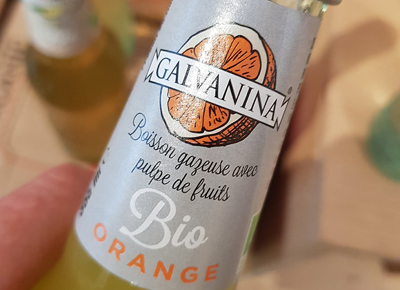 Limonata bio gazeuse à l'orange 355ml