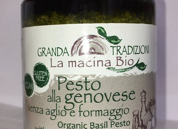 Pesto genovese bio sans ail, sans fromage