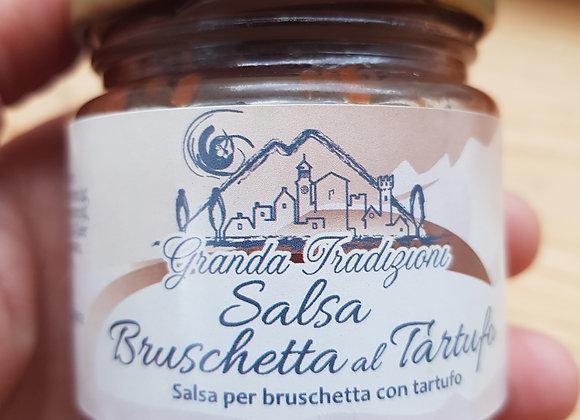 Sauce bruschetta à la Truffe - 80gr