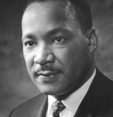 The Rev. Dr. Martin Luther King