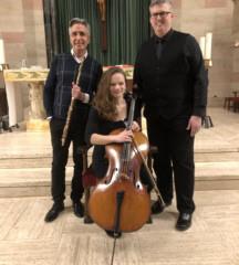 Trinitas Trio to Perform at Church of the Messiah