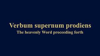 Near - Verbum supernum prodiens.mp4