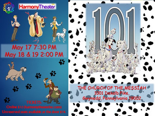 Harmony Theater Spring Musical - This Weekend!