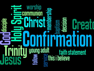 Confirmation Classes to begin March 10th