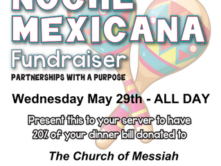 Dine & Donate - MARGARITAS Lansdale Wed May 29th ALL DAY